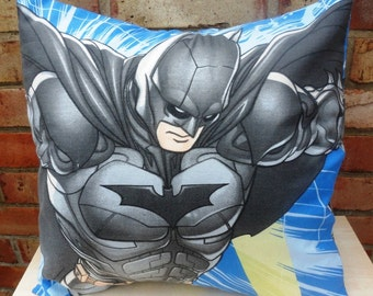 Batman & Robin Dark Knight Cushion Selection - handmade by Alien Couture