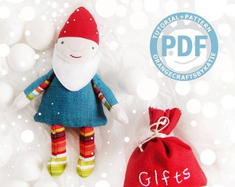 Dwarf  / doll / PDF Pattern ONLY