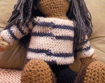 Large Amigurumi Doll - Made to order