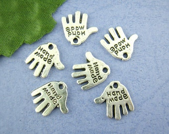 80pcs Hand Made Charms 11mm*12mm for Artwork / Jewellery making / Craft