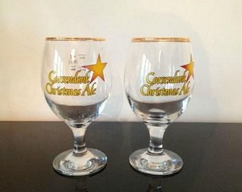 Rare Corsendonk Christmas Ale Glass