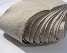Natural Evenweave Linen Band for Embroidery - 1 yard