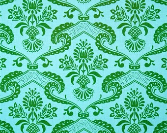 Discontinued Circa Lilly Green fabric yard by Jennifer Paganelli for Free Spirit Westminster Fibers