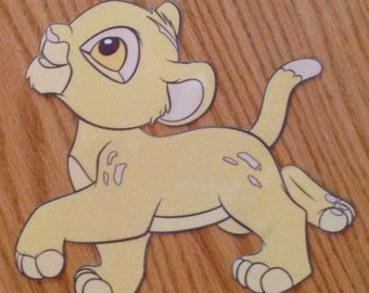 Lion King Simba adorable night light, all hand crafted
