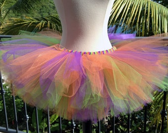Adult Tutu - Purple, Orange, Apple Green