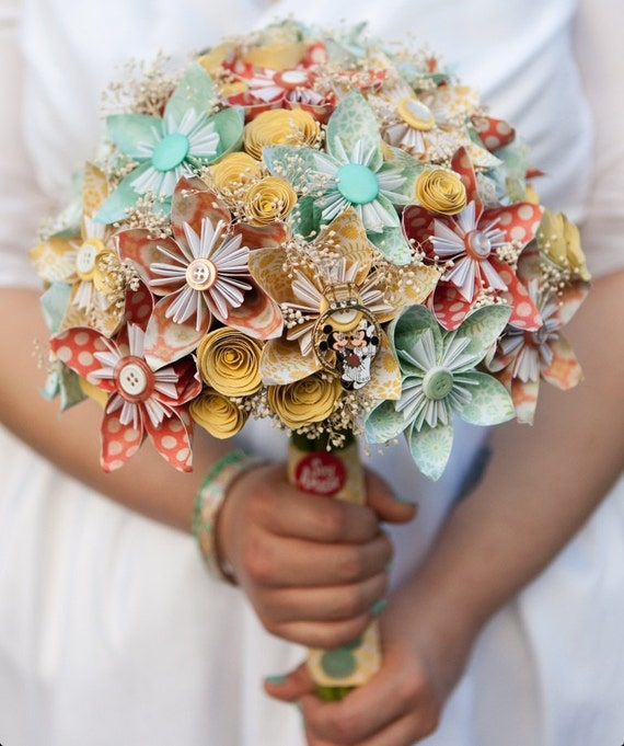 Diy Wedding Flower Bouquet: Items Similar To Wedding Bouquet