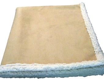 Dog Blanket - Tan