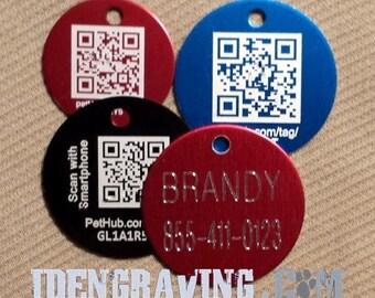 Personalized QR Code Digital Pet ID Tag