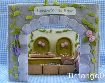 Lavender& Rose, the shop and the facade - DIY kits