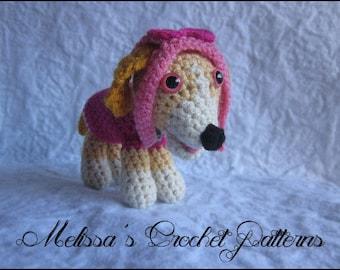CROCHET PATTERN - Paw Puppy Skye