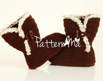 Crochet Slipper Pattern #21
