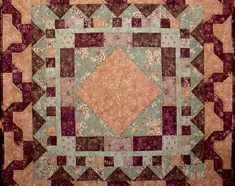 Make Mine Borders Quilt Pattern Wall Hanging or Table Topper