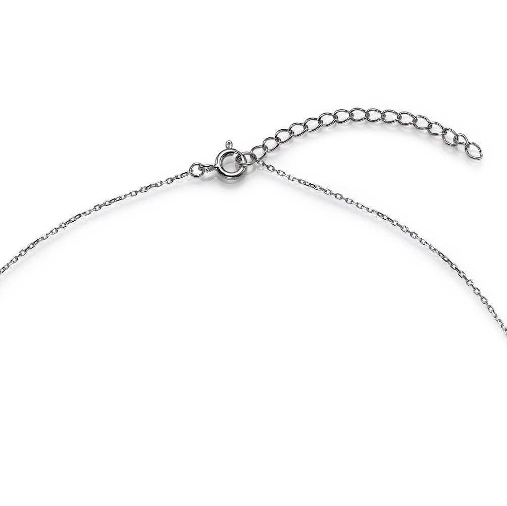 Forever Circle Necklace in Sterling Silver, Hand Made Jewelry