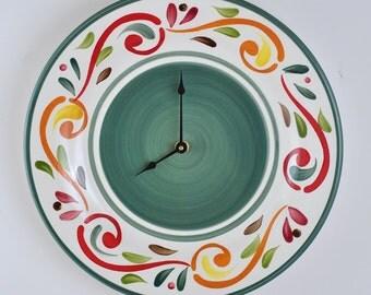 Dinner Plate Wall Clock