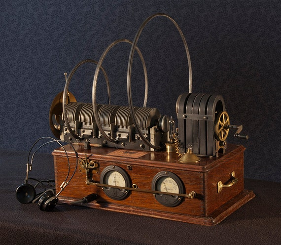 Items Similar To Steampunk Invention Device For Listening