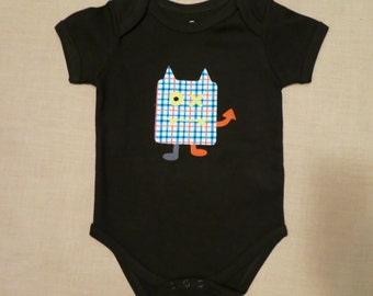 Modernly Cool Patches the baby monster - Onesies