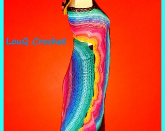 Technicolour dream coat/ vest