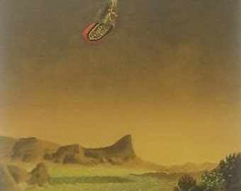 "Michel Charpentier Original Lithograph ""Icarus"" 1987 Signed E.A. (Epreuve D'Artist)"