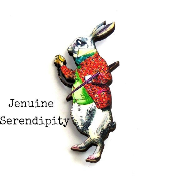 March Hare Alice In Wonderland: Items Similar To March Hare Alice In Wonderland White