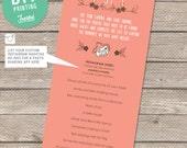 Wedding Photo Game - Printable PDF