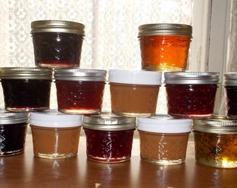 25 - 4 oz jar sampler set.    Price includes shipping.
