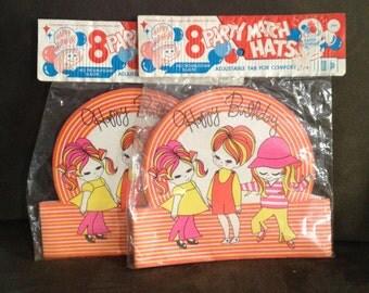 Vintage Paper Party Hats