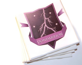 Game of Thrones Dondarrion Coasters