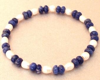 Beads Bracelet Sodalite