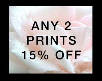 Choose any Two fine art prints - 15% Discount