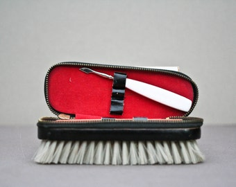 french vintage hand brush