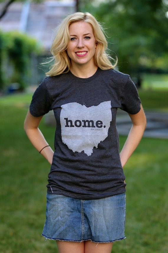 The ohio home t shirt for Print your own t shirt design at home