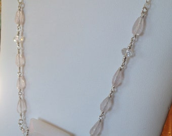 Pink Marshmallow Necklace