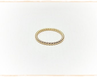 Stick to Pearl ring Rosé gold plated