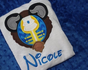 Disney Characters Mickey Mouse Ears Appliquéd Shirts or Onesies