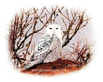 Lisa's Snow Owl