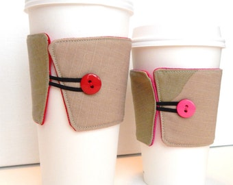 Camouflage Coffee Cozy