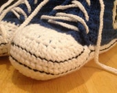 Pattern for / Patron pour crochet All-Stars (adult sizes / tailles adultes)