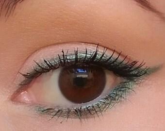 Emerald Eyeliner and Eyeshadow- All Natural, Vegan Makeup