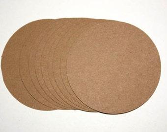 25 Brown Kraft Tags, 2 Inch Die Cut Paper Circles, Paper Craft, Kraft Paper Tags, DIY Tags, Kraft Die Cut, Kraft Circle Tags, Kraft Wedding
