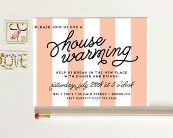 Housewarming Party Invitation - Moving Announcement - Change of Address