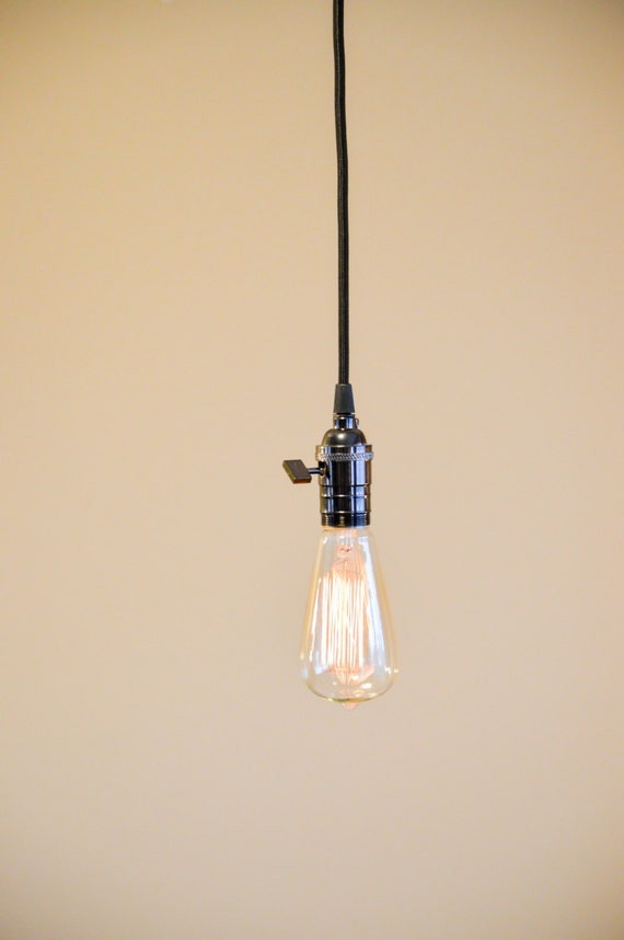 Pendentif luminaire suspendu pendentif lampe style industriel - Eclairage suspendu par cable ...