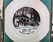 Somerset County Maple Festival Meyersdale, Pennsylvania Vintage Souvenir plate