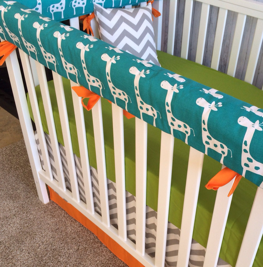 crib set nursery bedding crib bedding by custombebetextiles. Black Bedroom Furniture Sets. Home Design Ideas