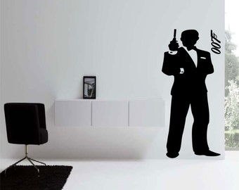 James Bond 007 Wall Decal