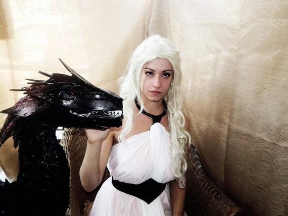 Daenerys white dress cosplay