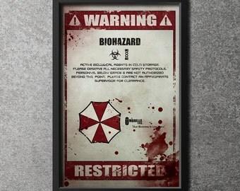 Original Giclee Art Print 'Biohazard'