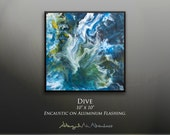 Photographic Print: Dive, 8in x 8in or 12in x 12in, signed fine art print.