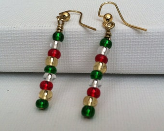 Holiday Beads Earrings