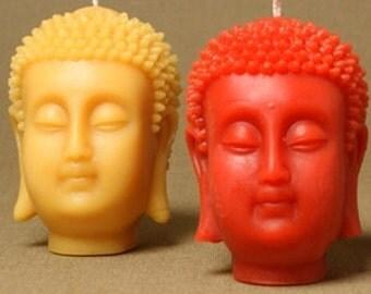 Bees wax Buddha candle