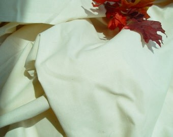 "Ivory Muslin, One Yard, Heavy, 76"" wide, Costuming, Patterns, Samples, Sewing"